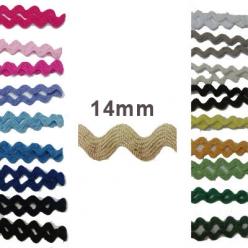 25 m de serpentine coton croquet 14mm