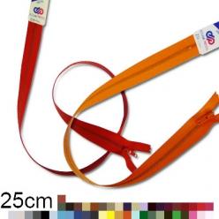 fermeture z11 non separable metallique 3mm  25cm