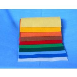 feutrine de laine pochette de 3 coupons