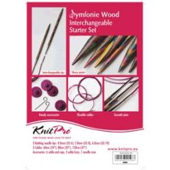 set d aiguilles interchangeables a tricoter knit pro debutant