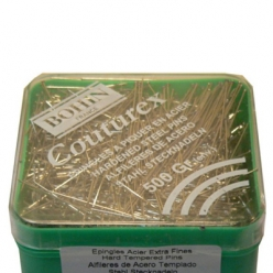 lot 5 x 50g d epingles extra fine couturex n4 30mm