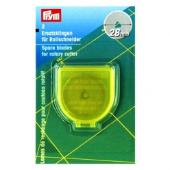 lame de rechange 28 mm pour cutter mini 611371 prym