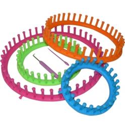 tricotin circulaire en 4 parties