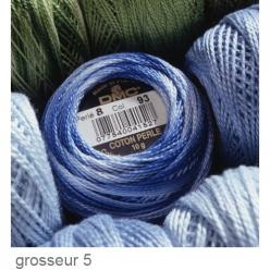 coton perle dmc art 116 grosseur 5  pelote de 45m
