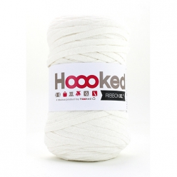pelote hoooked ribbon xl pearl white