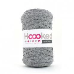 Pelote Hoooked Ribbon XL stone grey