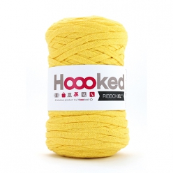 Pelote Hoooked Ribbon XL lemon yellow