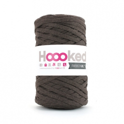 Pelote Hoooked Ribbon XL tobacco brown