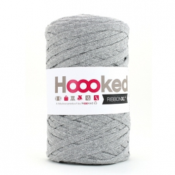 pelote hoooked ribbon xl silver grey