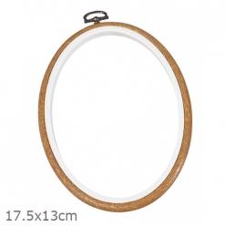 cadre tambour oval 175 x13 cm dmc