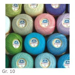 fil a crocheter babylo couleur grosseur 10 50g