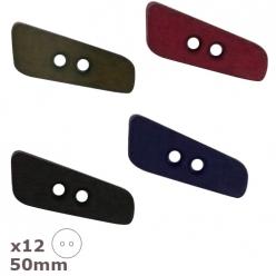 12 boutons 50mm dill couleurs au choix