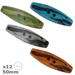 12boutonsbuchettes 50mmdillcouleursauchoix