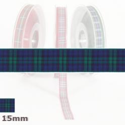 20 m de ruban ecossais 15mm