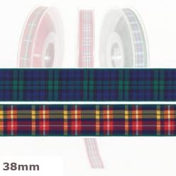 20 m de ruban ecossais 38mm