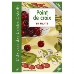 livre point de croix en fruits