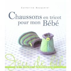 livre chausson en tricot pour mon bebe