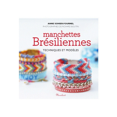 livre bracelets manchettes bresiliennes