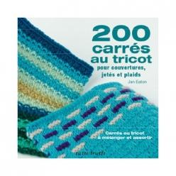 livre 200 carres au tricot