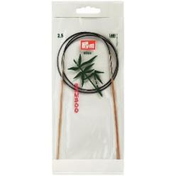 aiguilles a tricoter bambou 80 cm 25 mm