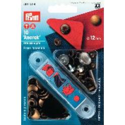 boutons de pression pour l anorak 12 mm