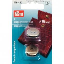 fermoir magnetique 19mm laiton