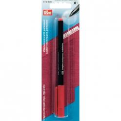crayon a marquer le linge rouge