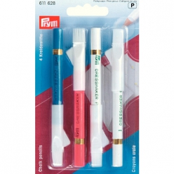 set de 4 crayons craies brosse