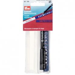 necessaire a marquer ruban thermo crayon noir trace lettres