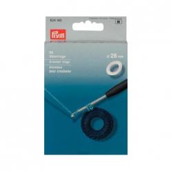 anneaux pour crocheter plat 26mm x96