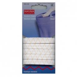 elastique standard 10mm blanc