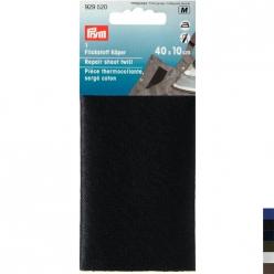 piece thermocollante en serge coton 40x10cm