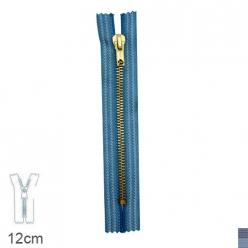 fermeture z15 special jean s non separable 6mm  12cm