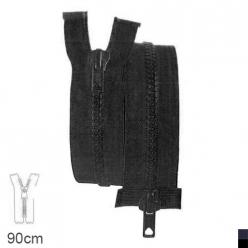 fermeture z68 separable 6 mm double curseur  90cm