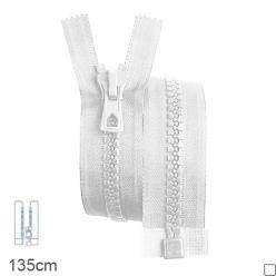 fermeture z70 separable grosse maille 9mm  135cm