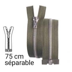 fermeture z22 pull blouson separable 75 cm