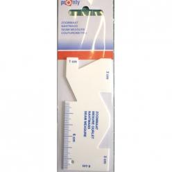 mesure ourlet en plastique