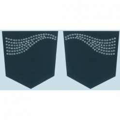 motif strass thermocollant ailes x2