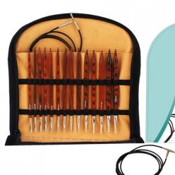kit d aiguilles a tricoter interchangeables cubics deluxe