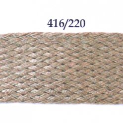 galon tresse damier 22mm lin