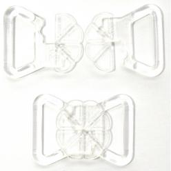 agrafe maillot de bain transparent x10 paires