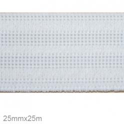 elastique gaufre 25mm x 25m