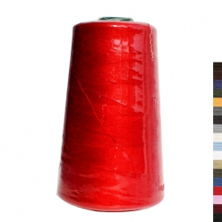 fil surjet x 100 polyester cone de 5000m