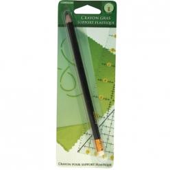 crayon gras pour support plastique