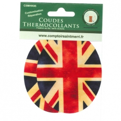coudes thermocollants fantaisies drapeau royaume uni
