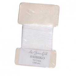 fil sashiko en coton  lot de 5 cartes