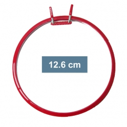 Lot de 4 cercles pour broder en machine 12.6cm