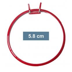 lot 4 petits cercles pour broder en machine 58 cm