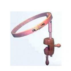tambour a broder de table avec serre  o 20 ou 25cm