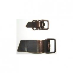 clip metal bronze  10paires sur commande
